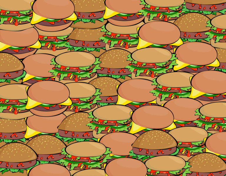 Burger Background